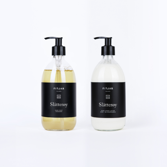 Slåtterøy Hand Soap + Hand & Body Lotion
