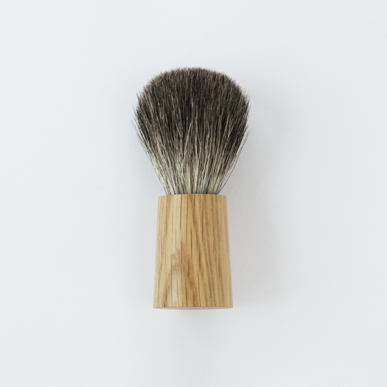 Olav Eldoy Shaving Brush | Natural Oak