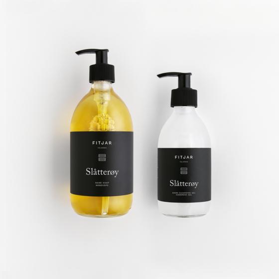Slatteroy Hand Soap 500ml + Antibac Hand Sanitiser 250ml.