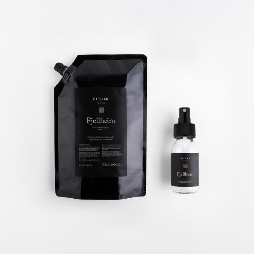Fjellheim Handsprit 500ml Refill + 50ml empty bottle